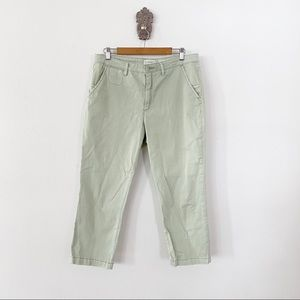 Anthropologie Slim Chino Cropped Size 32